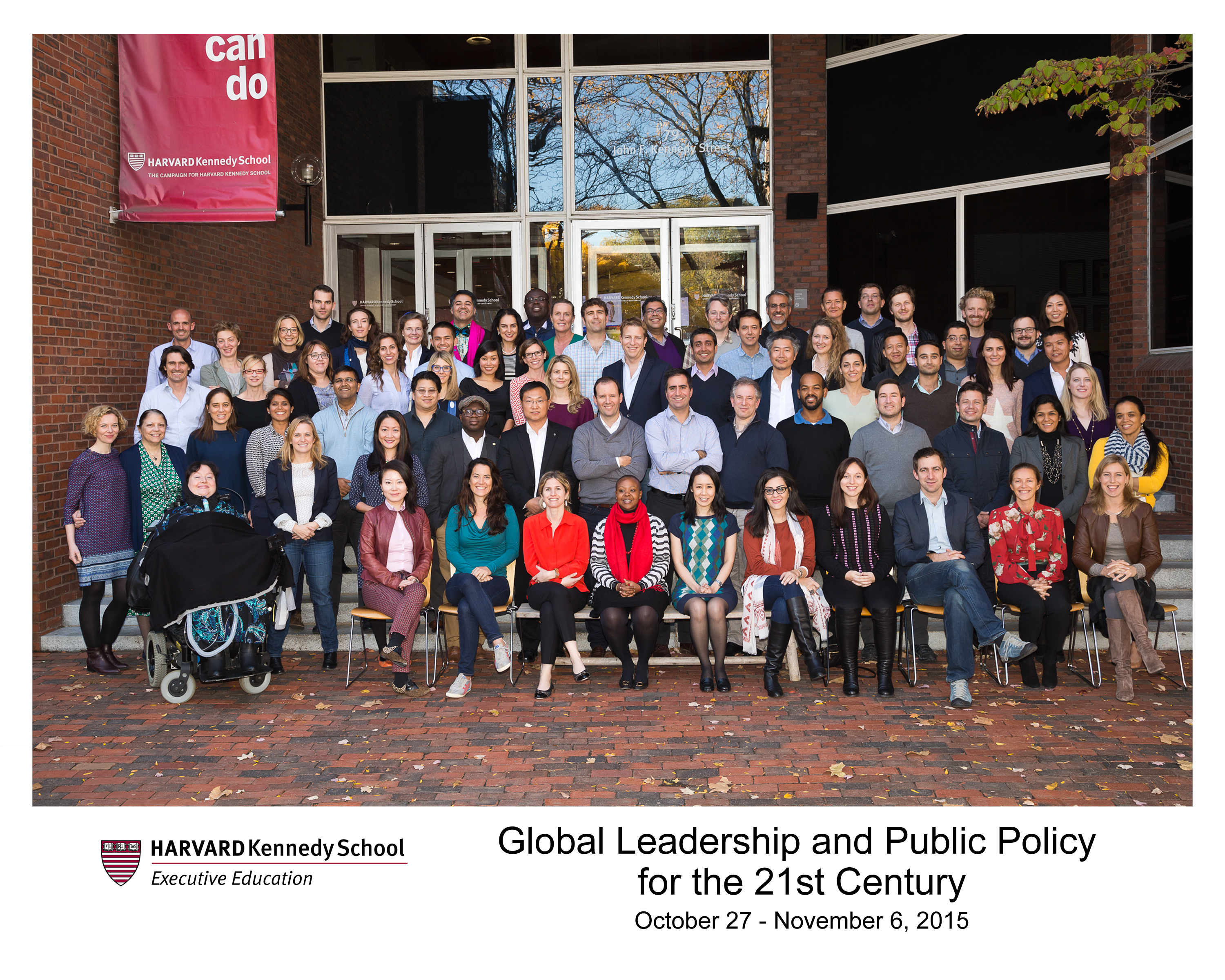 YGL Group Photo Harvard